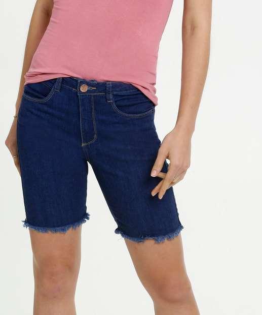 Image_Bermuda Feminina Jeans Stretch Ciclista Razon
