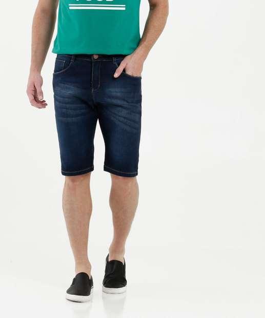Image_Bermuda Masculina Jeans Bolsos Razon