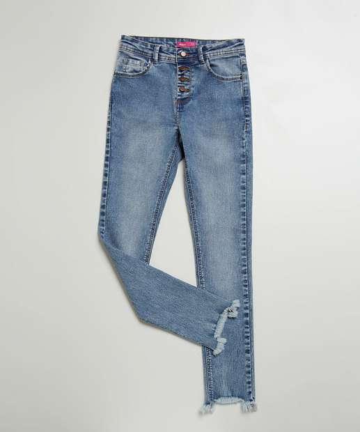 Image_Calça Juvenil Jeans Skinny Marisa Tam 10 a 16