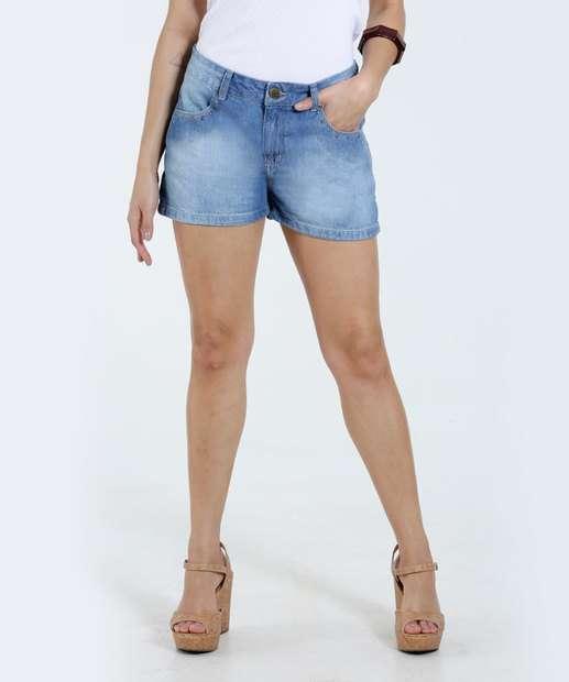 Image_Short Feminino Tachas Jeans Marisa