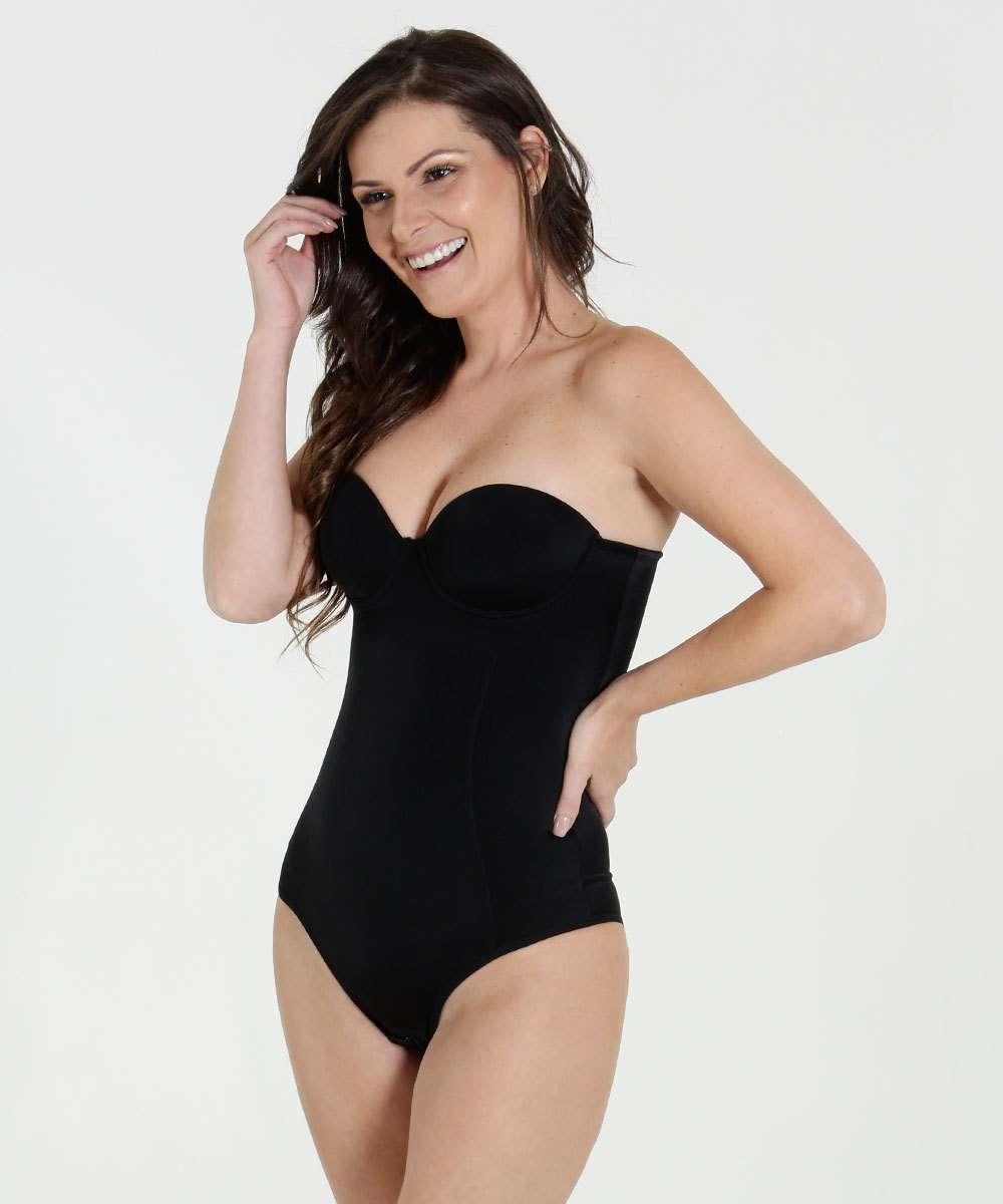 681910bdb Body Feminino Modelador Dilady Corporal Shape
