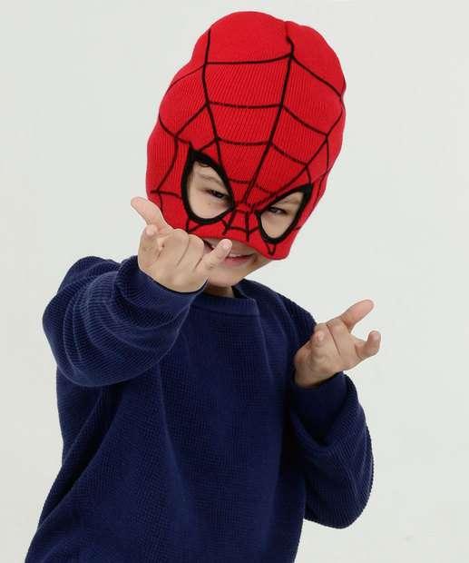 Image_Gorro Infantil Tricô Homem Aranha Marvel