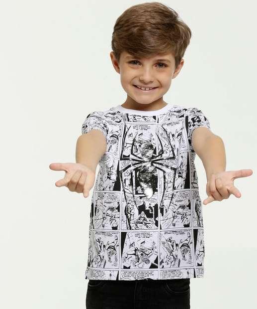 Image_Camiseta Infantil Homem Aranha Manga Curta Marvel