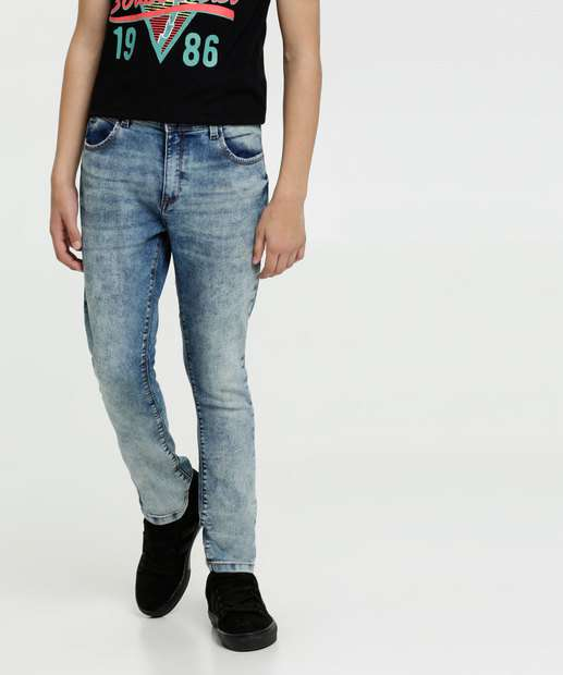 Image_Calça Juvenil Jeans Stretch MR