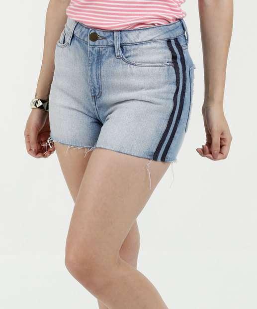 Image_Short Feminino Jeans Listras Marisa