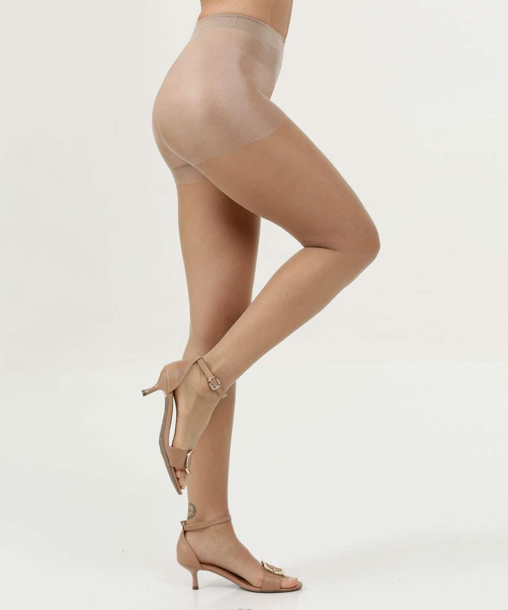 Meia Calça Feminina Fio 7 Invisível Dedinhos Trifil