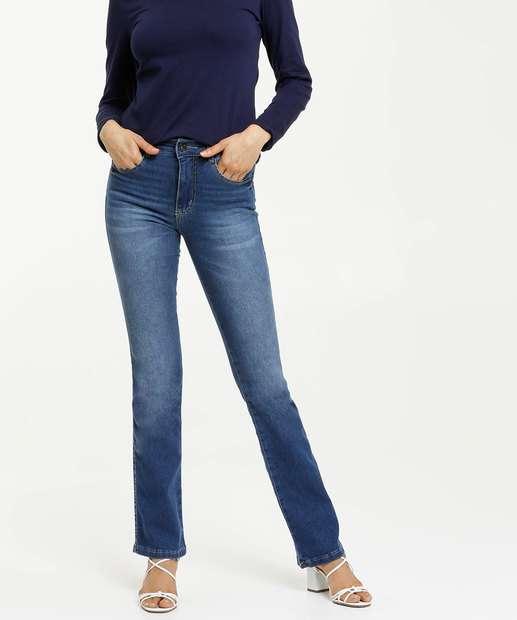 Image_Calça Jeans Boot Cut Jeans Stretch Biotipo