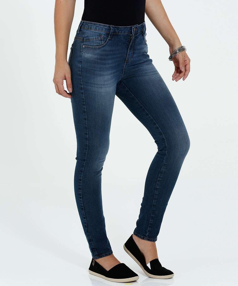 5d27c4572 Calça Feminina Skinny Jeans Marisa