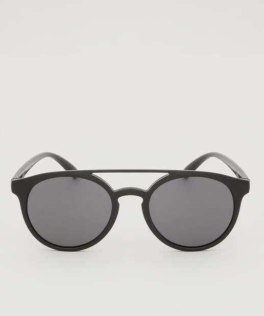 Image_Óculos de Sol Unissex Redondo Marisa
