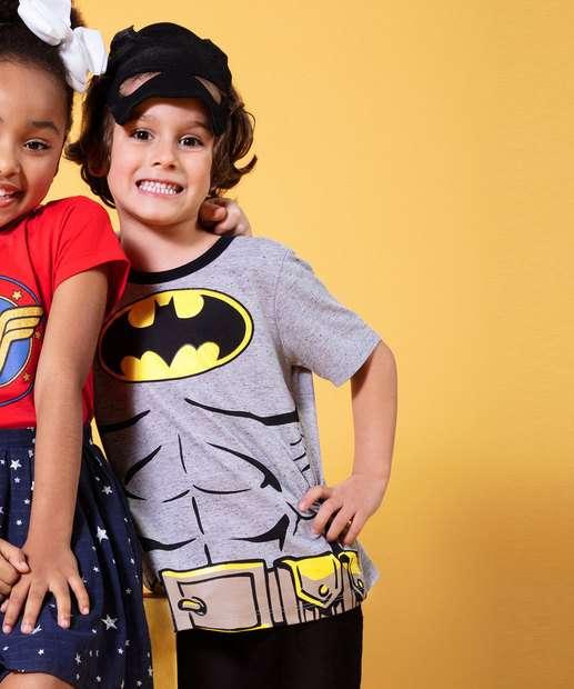 Image_Camiseta Infantil Botonê Estampa Batman Liga da Justiça