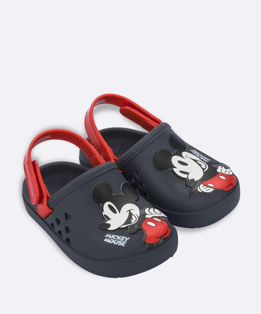 Papete Infantil Babuche Mickey Love Grendene Kids