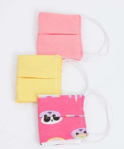 Image_Kit 3 Máscaras Proteção Infantil