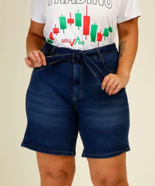 Image_Bermuda Plus Size Feminina Jeans