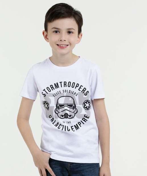 Image_Camiseta Infantil Estampa Manga Curta Star Wars