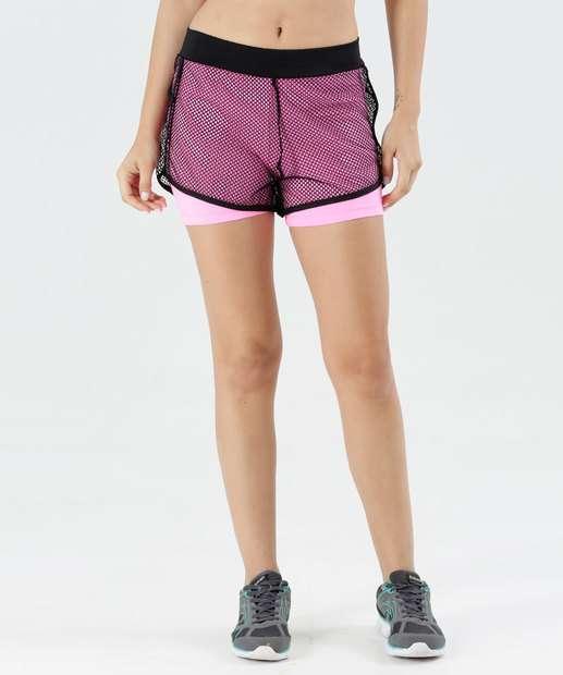 Image_Short Feminino Tela Fitness Active Marisa