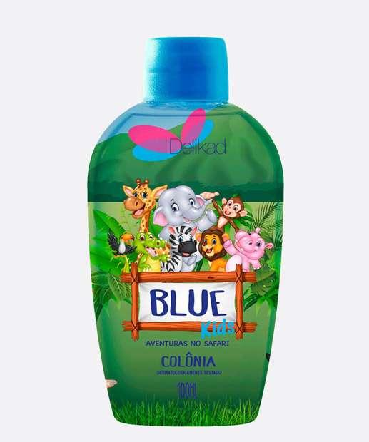 Image_Colônia Infantil Unissex Safari Kids Blue Delikad 100ml