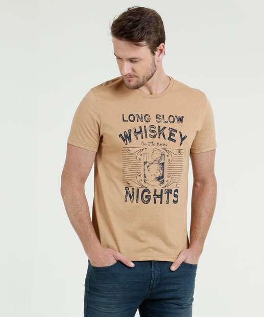 Image_Camiseta Masculina Estampa Whisky Manga Curta Mr