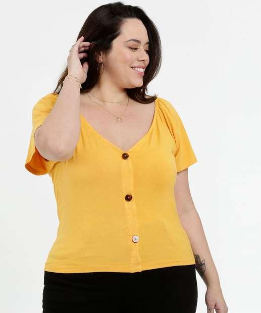 Image_Blusa Feminina Botonê Plus Size Marisa