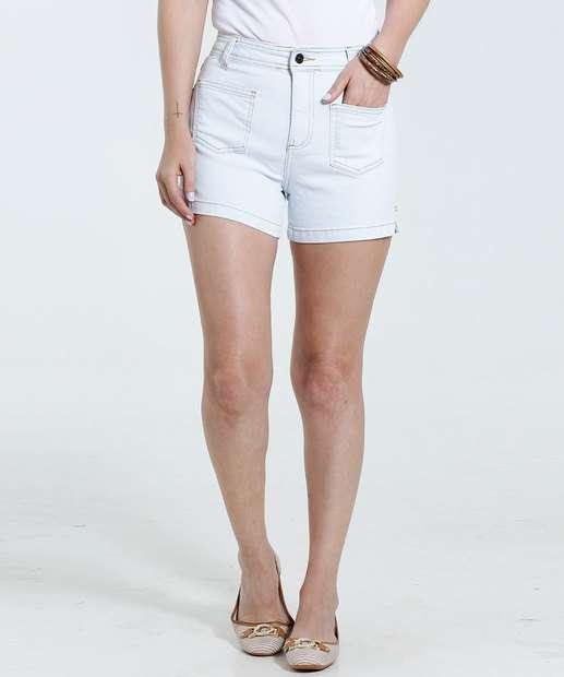 Image_Short feminino em jeans detalhe fenda Marisa