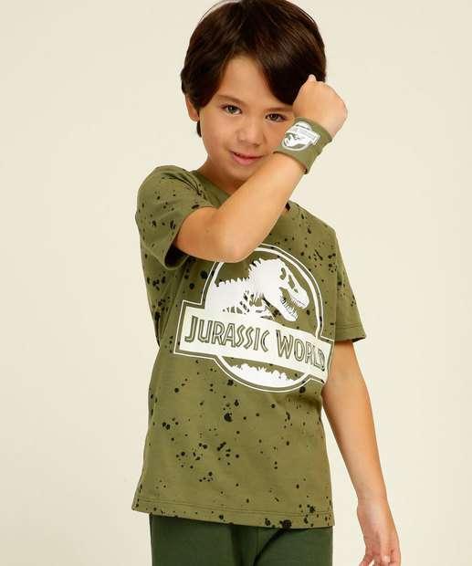 Image_Camiseta Infantil Jurassic World Universal Tam 4 a 10