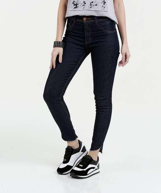 Image_Calça Feminina Jeans Cigarrete Stretch Biotipo