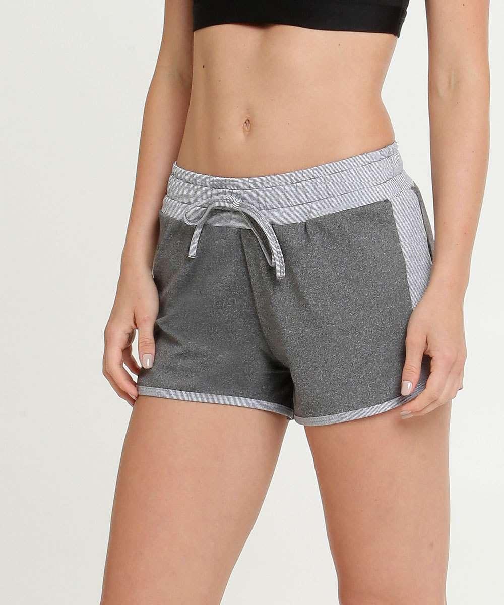 Short Feminino Fitness Recorte Marisa