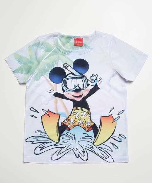 Image_Camiseta Infantil Bebê Estampa Mickey Disney