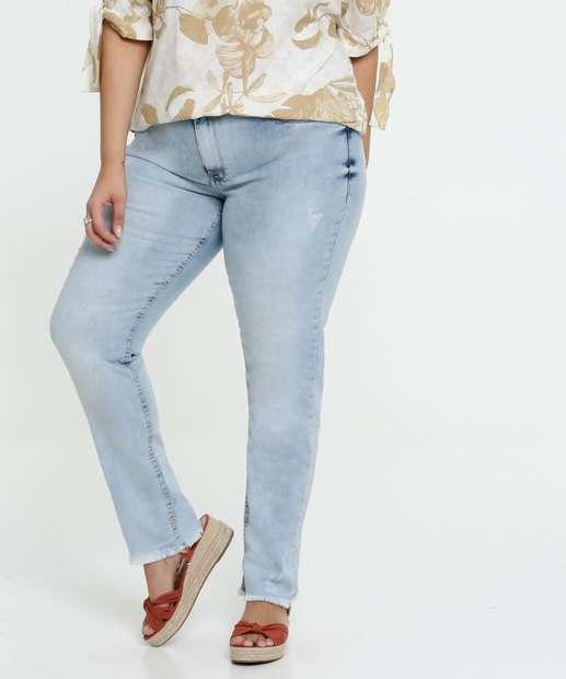 Image_Calça Jeans Puídos Skinny Feminina Plus Size Razon