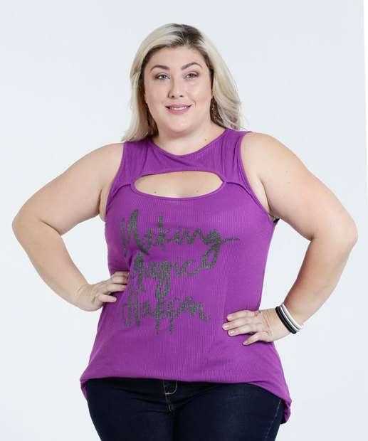 Image_Blusa Feminina Plus Size Frase Frontal Marisa