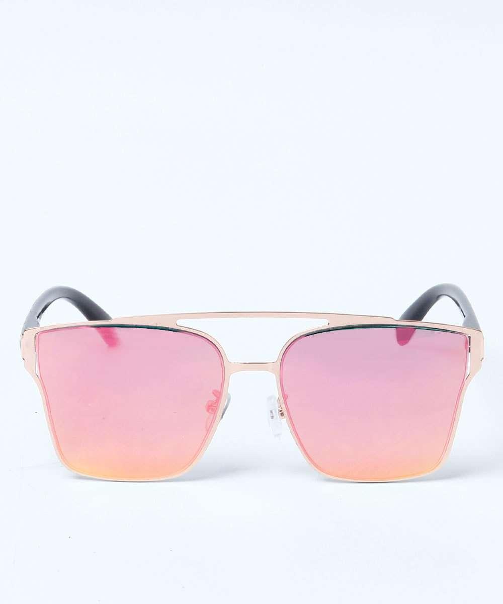 ef6e08a315349 Óculos Feminino de Sol Aviador Espelhado Marisa   Marisa