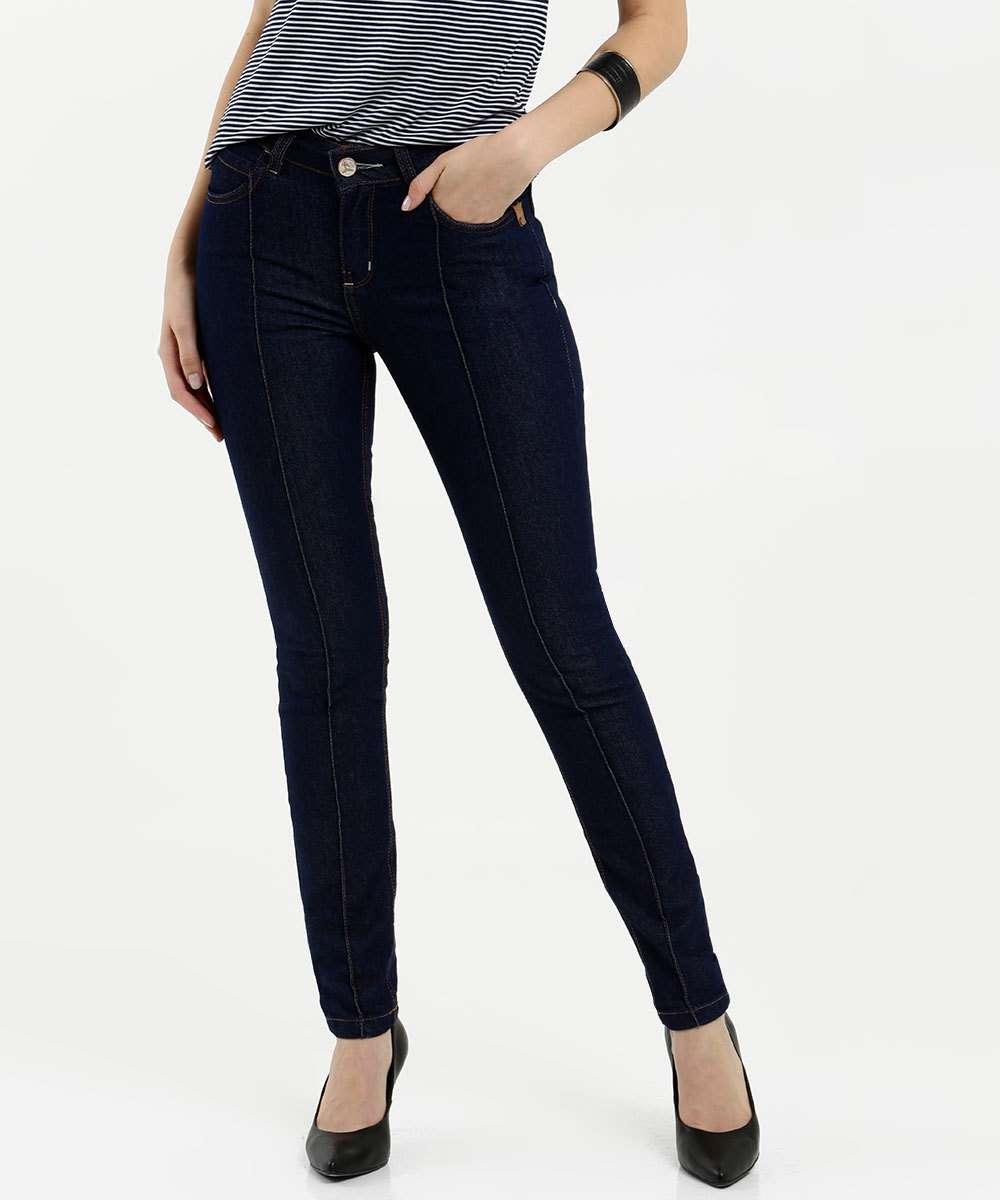 Calça Feminina Skinny Uber Jeans
