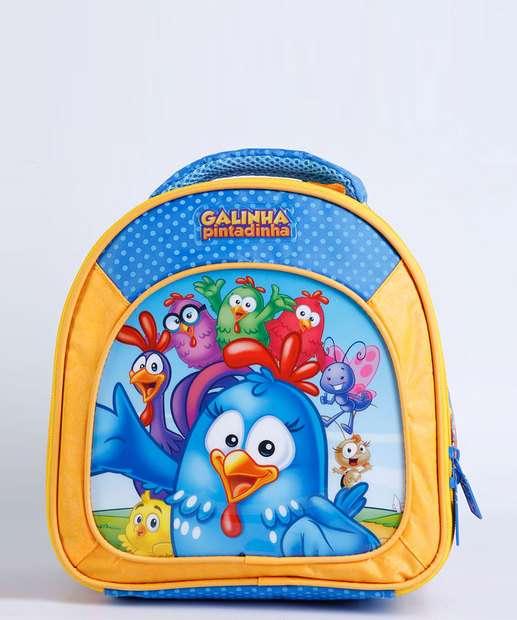 Image_Lancheira Escolar Infantil Estampa Galinha Pintatinha Xeryus