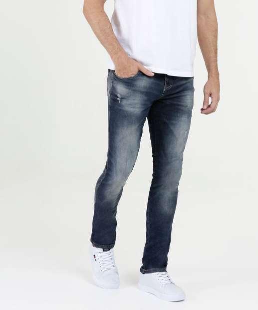 Image_Calça Masculina Jeans Puídos Skinny Biotipo
