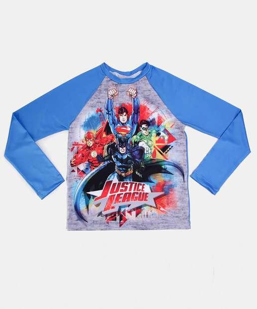 Image_Camiseta Praia Infantil Proteção UV Liga Justiça