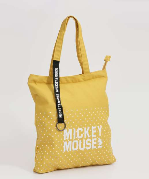Image_Bolsa Feminina de Ombro Estampa Mickey Disney