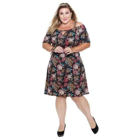 Image_Vestido feminino Open Shoulder Plus Size Marisa