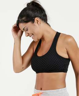 Top Feminino Fitness Tela Nadador Marisa