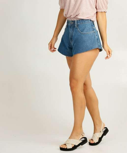 Image_Short Jeans Godê Feminino Cintura Alta
