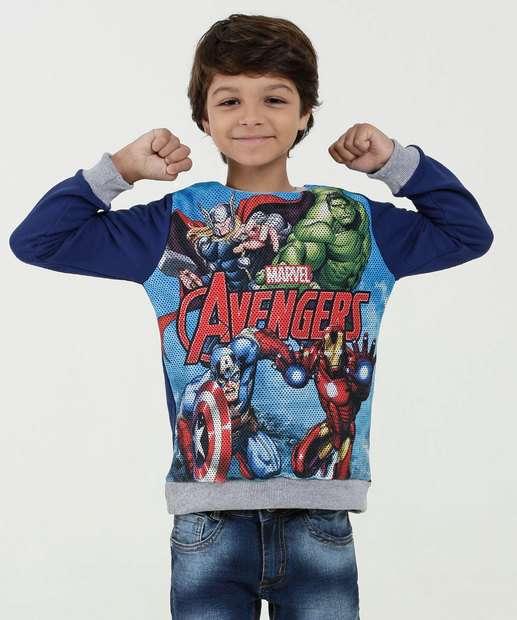Image_Blusão Infantil Moletom Estampa Os Vingadores Marvel