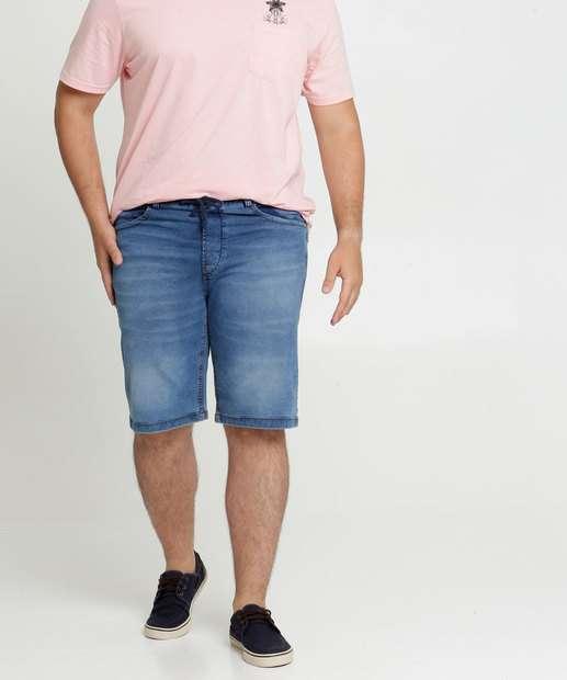 Image_Bermuda Masculina Jeans Plus Size