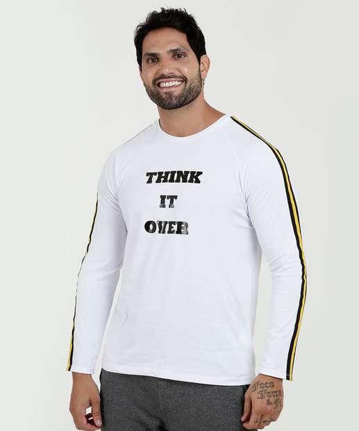 Image_Camiseta Masculina Estampa Frontal Manga Longa MR