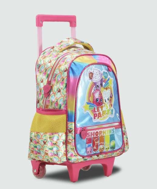 Image_Mochila Escolar Infantil Rodinha Estampa Shopkins Xeryus