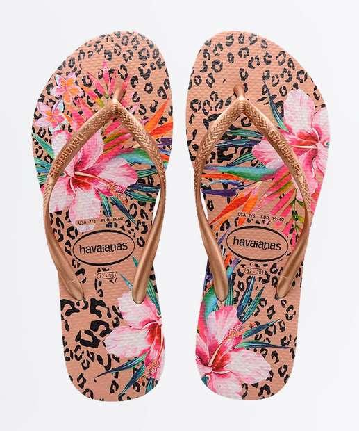 Image_Chinelo Havaianas Feminino Slim Floral