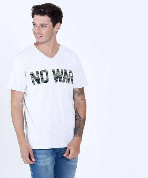 Image_Camiseta Masculina Estampa Frontal Manga Curta Tribo
