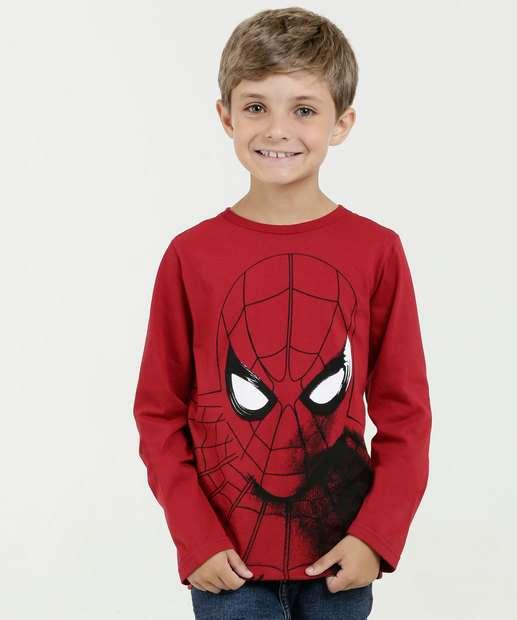 Image_Camiseta Infantil Homem Aranha Manga Longa Marvel