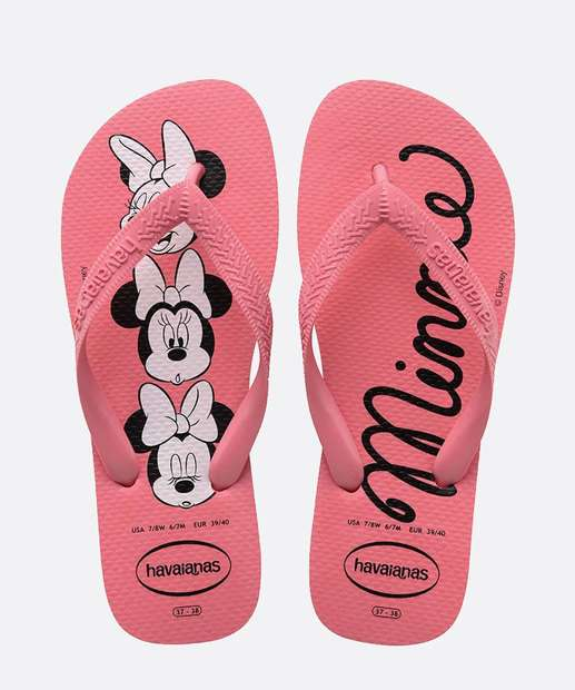 Image_Chinelo Havaianas Infantil Estampa Minnie Top Disney