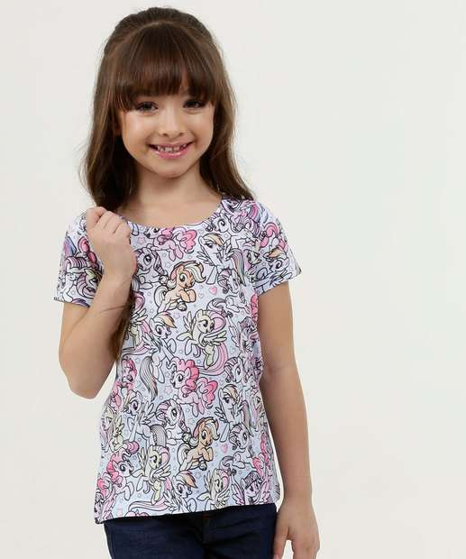 Image_Blusa Infantil Estampa My Little Pony Manga Curta