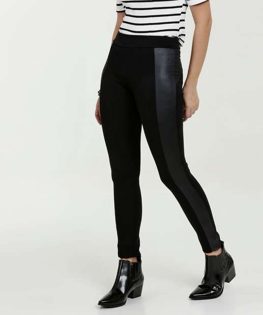 65317b2248 Calça Feminina Legging Recorte