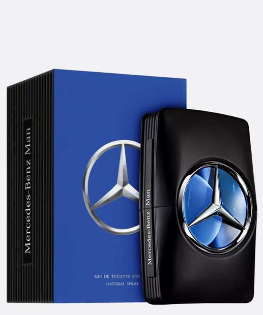 Image_Perfume Masculino 50ml - Man Mercedes Benz Eau de Toillette