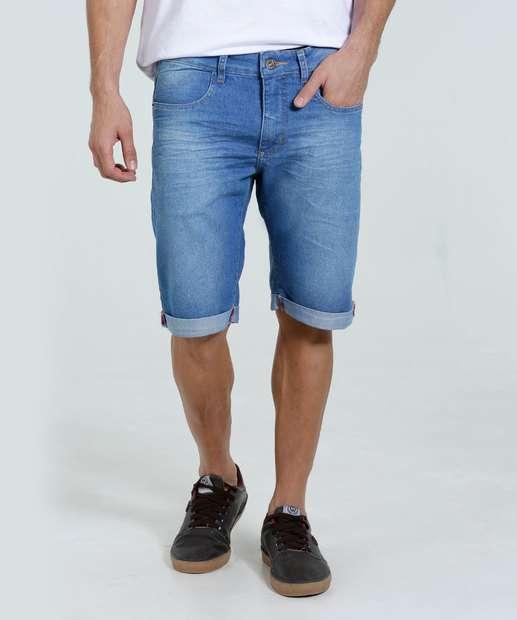 Image_Bermuda Masculina Slim Jeans Marisa